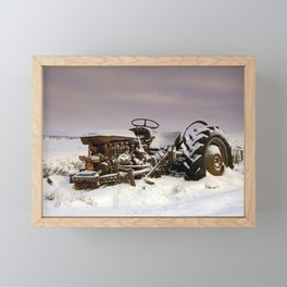 Fergie Yellow Belly Framed Mini Art Print