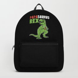 Papasaurus | Father's Day Dinosaur Backpack