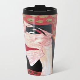 Woman of Fire Metal Travel Mug