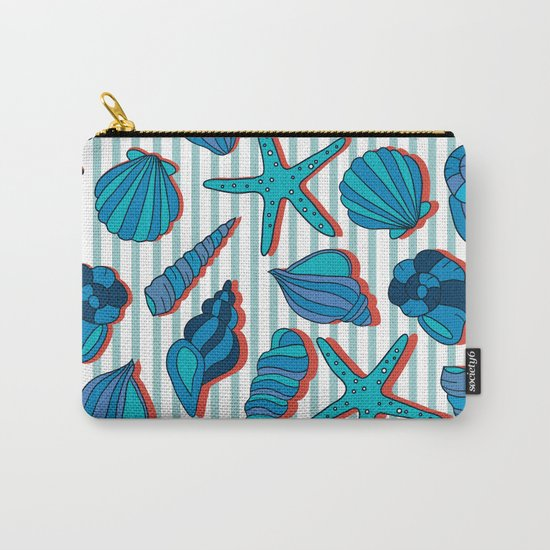 summer time blue Carry-All Pouch