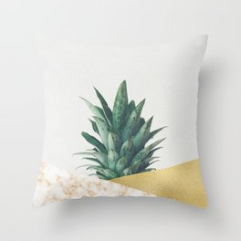 Pineapple Dip VII Throw Pillow