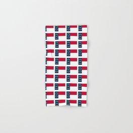 flag of  north carolina 2- south,america,usa,Old North State,Tar Heel,North Carolinian,Charlotte Hand & Bath Towel