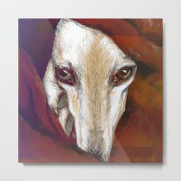 Red Lur I Illustrious dogs. Metal Print