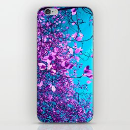purple tree XXIII iPhone Skin