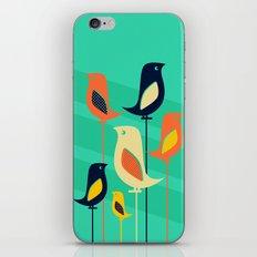 Mid Century Birds iPhone & iPod Skin
