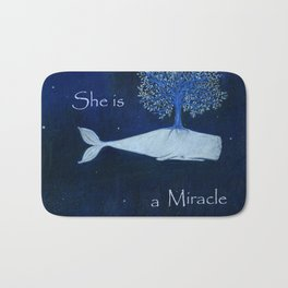 She is a miracle Bath Mat