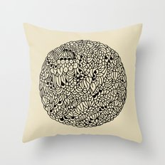 Mandala Throw Pillow