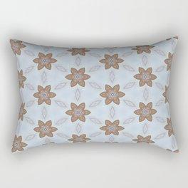 Flower Abstract Rectangular Pillow