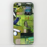 golf iPhone & iPod Skins featuring Golf by Andrew Sliwinski