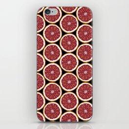 Grapefruit Fun iPhone Skin