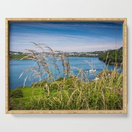 View of Kinsale, Ireland from Summer Cove Serving Tray
