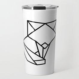Tiny Origami Fox Travel Mug