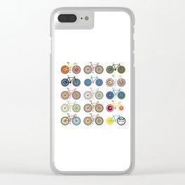 Pal-bike Clear iPhone Case