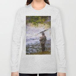 Trout fishing Long Sleeve T-shirt