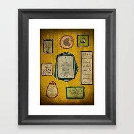 Frames Framed Art Print