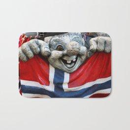 Norwegian Troll Photography Bath Mat