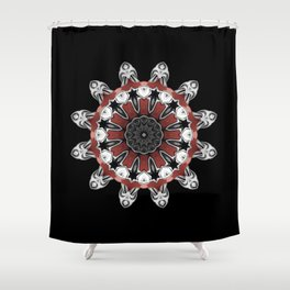 Olympus Shower Curtain