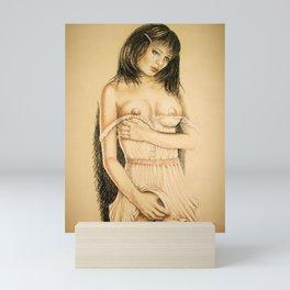 sweet girl Mini Art Print