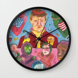Great Again Wall Clock