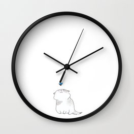Play with me, Butterfly. Wall Clock