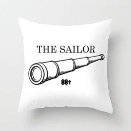 Rich Brian The Sailor Throw Pillow
