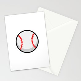 Cool Baseball Stationery Cards