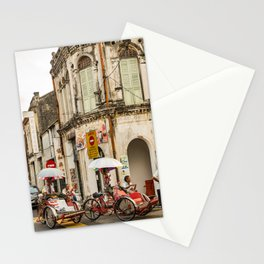 George Town, Penang Trishaw Break 2 Stationery Cards