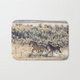 Running Mustangs, No. 1 Bath Mat