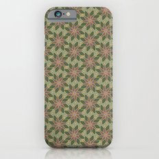 Autumn Floral Pattern iPhone 6s Slim Case