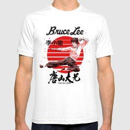 "Bruce ""The little Dragon"" Lee By La Brea T-shirt"
