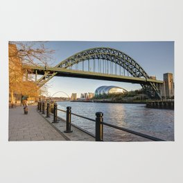 Newcastle Tyne Bridge Rug
