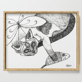 Fairy Cat Serving Tray