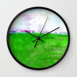 Journey No.600p by Kathy Morton Stanion Wall Clock