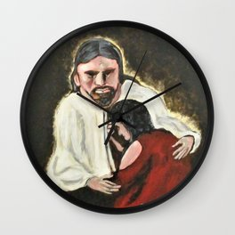 Mercy, No Sin To Great Wall Clock
