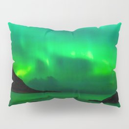 Northern Lights (Aurora Borealis) 5. Pillow Sham