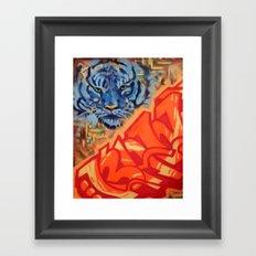 Just Gazing Framed Art Print