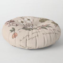 Flowering Spring Trees Floor Pillow