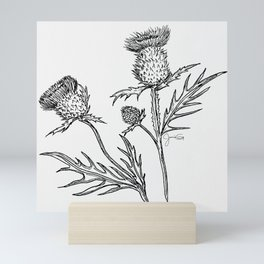 Give a Little Thistle Mini Art Print