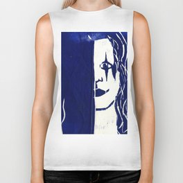 Brandon Lee Blue Biker Tank