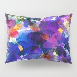 Royal Blue Garden Pillow Sham