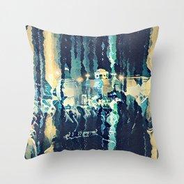 Abstract art-Landscape Throw Pillow
