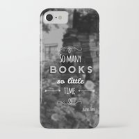 zappa iPhone & iPod Cases featuring So many books, so little time by Jane Mathieu