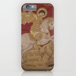 Agathe - Saint George the Dragonslayer (1729) iPhone Case