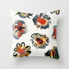 Simply Petals Throw Pillow