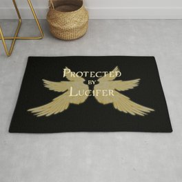 Protected by Lucifer Light Rug