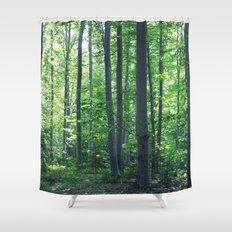 morton combs 02 Shower Curtain