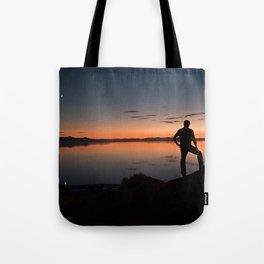 Reflection of Salt Lake Tote Bag