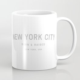 New York City - NY, USA (White Arc) Coffee Mug
