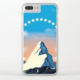 Movie Mountain Clear iPhone Case