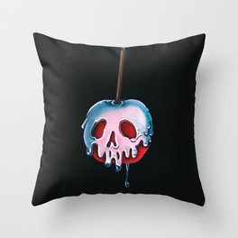 """Disney's Snow White Inspired """"Poisoned Candied Apple"""" Throw Pillow"""